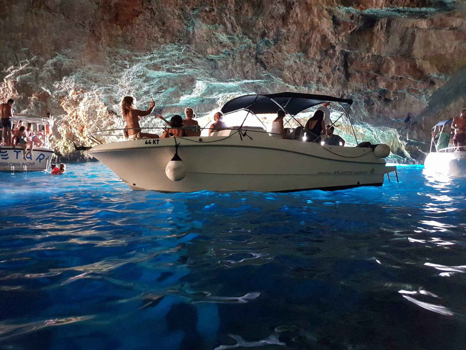 Blue cave and Boka bay tour